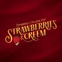 Strawberries & Creem Festival Logo