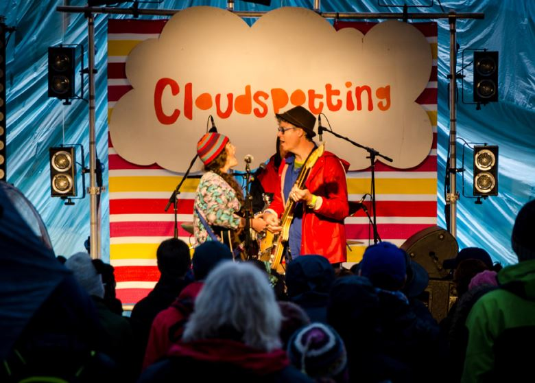 Cloudspotting stage
